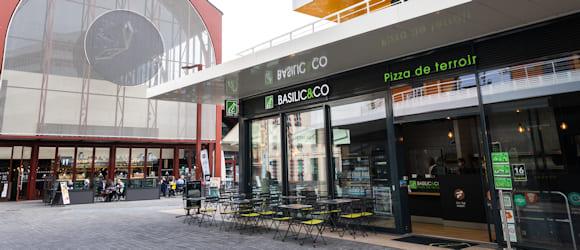 Façade du restaurant Basilic & Co Nice Gare du Sud