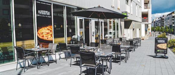 Façade extérieure restaurant Basilic & Co Rennes (Clémenceau)