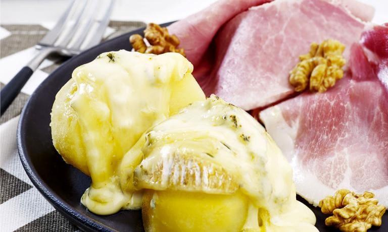 Raclette au bleu du Vercors-Sassenage AOP
