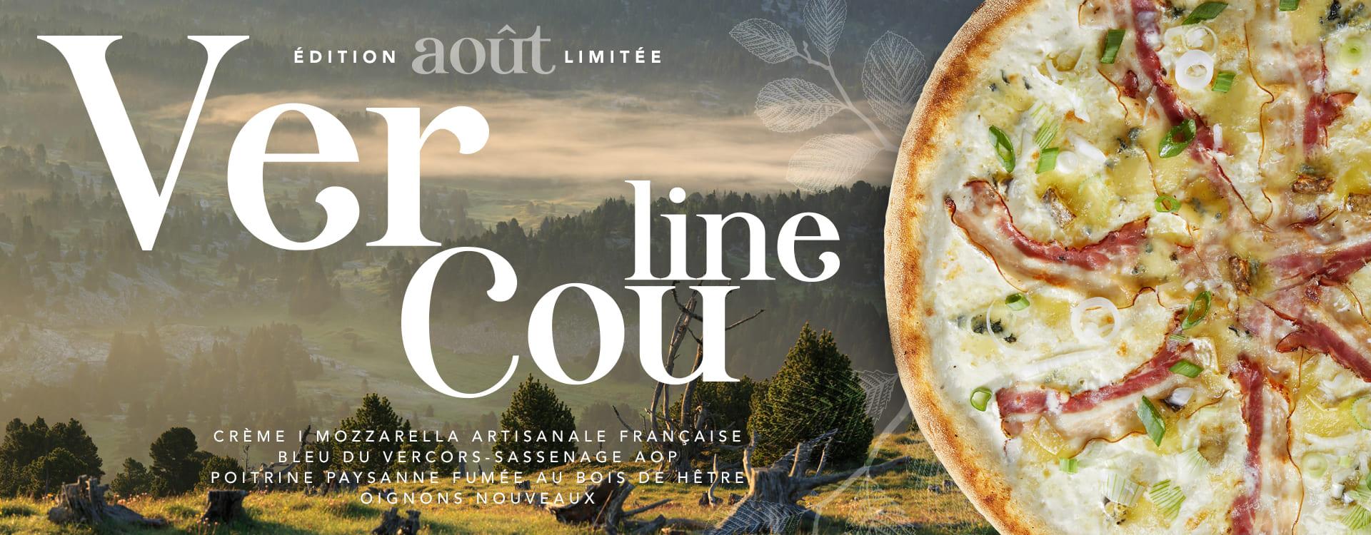 Pizza Vercouline Basilic & Co