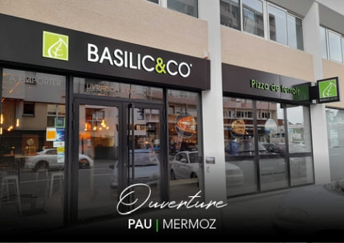 Ouverture du nouveau restaurant Basilic & Co Pau (Mermoz)