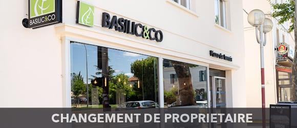 Façade de la pizzeria Basilic & Co Narbonne